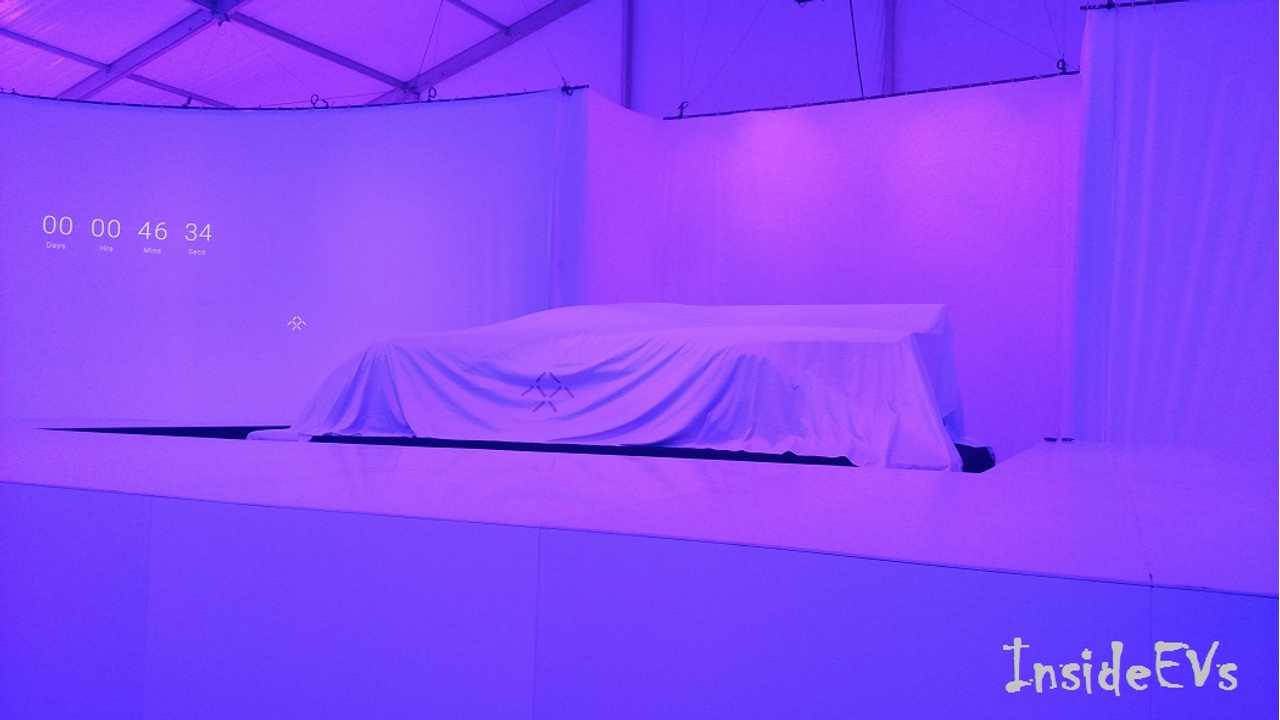 Faraday Future To Unveil Its Mysterious Production Electric Car At CES In January
