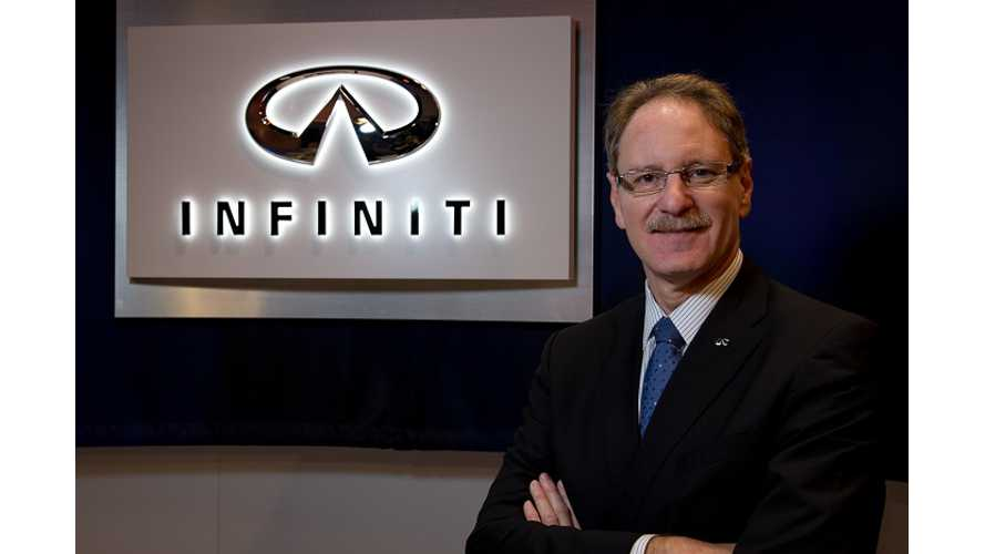 The Guy That Doesn't Like EVs Doesn't Make It As Infiniti Boss - Go Figure.  Now Heads To GM?