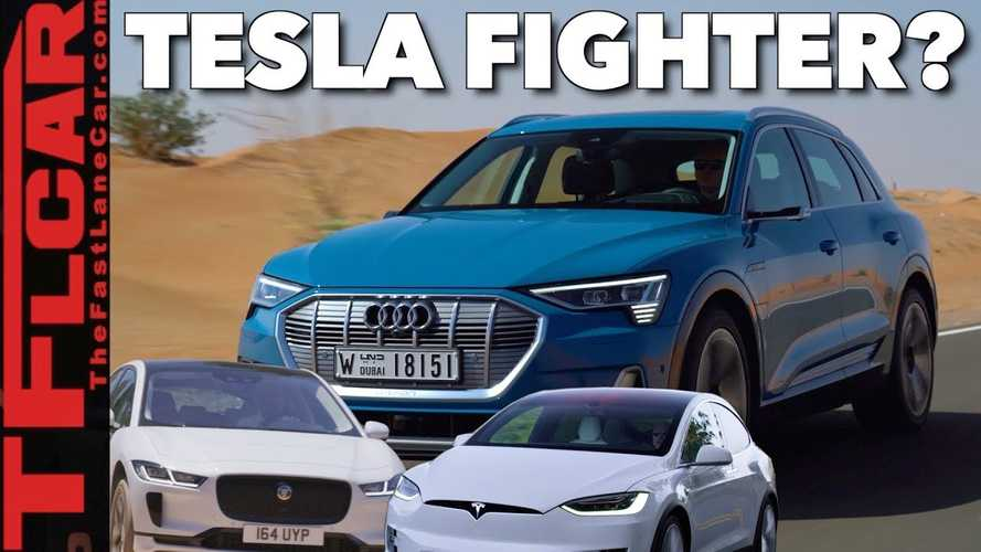Compared: 2019 Audi e-tron vs Tesla Model X vs Jaguar I-Pace: Video