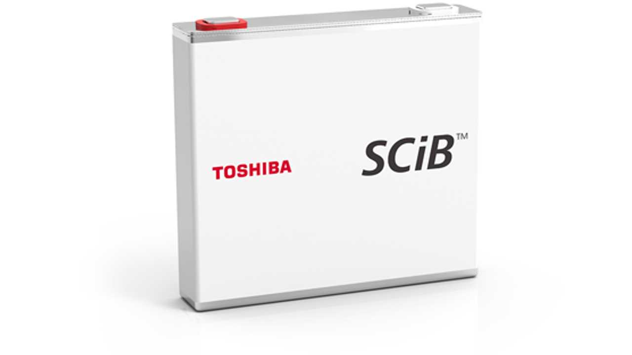 Toshiba To Strengthen SCiB Battery Unit: Upgraded Chemistry Coming