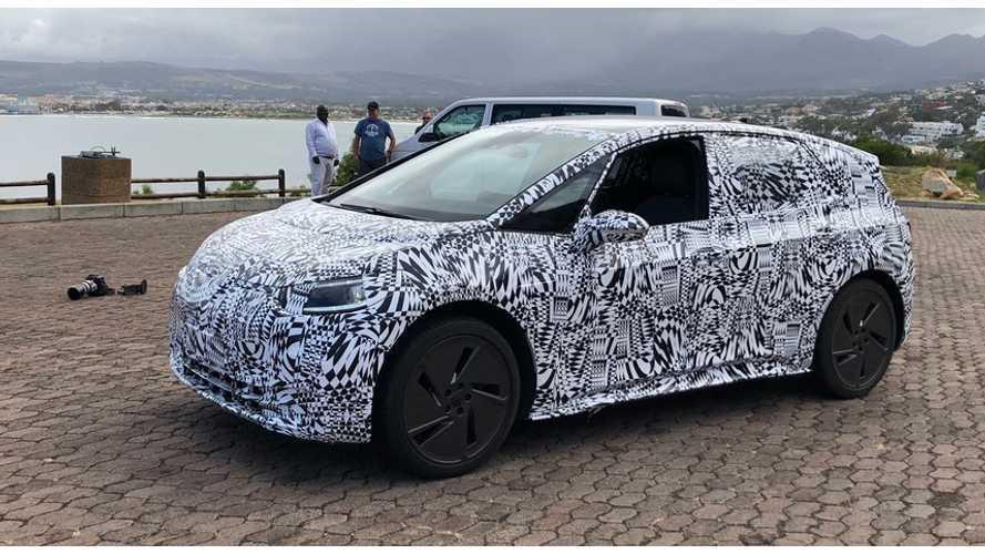 Volkswagen I.D. Hatch Spotted Testing