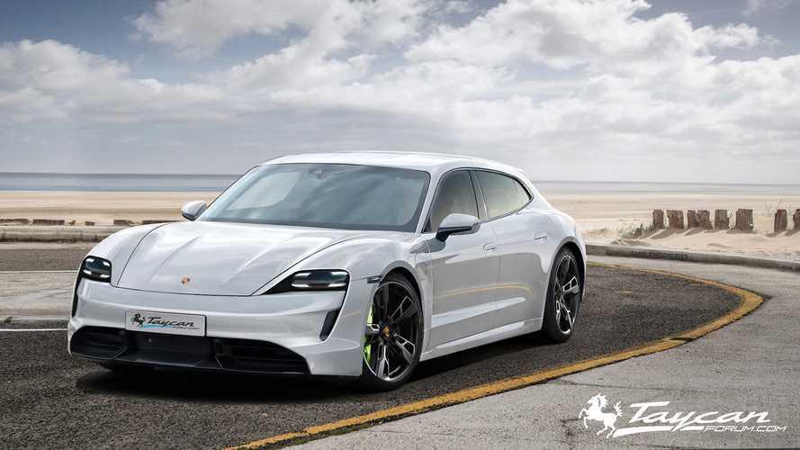 Porsche Taycan Grand Turismo & Targa Rendered In Stunning Form