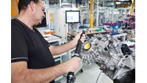 Prototype production of future fifth-generation BMW Group e-drive train: electric motor, transmission and power electronics are combined in a separate, compact e-drive component.