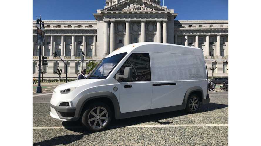 Workhorse N-GEN Electric Van Hits The Road