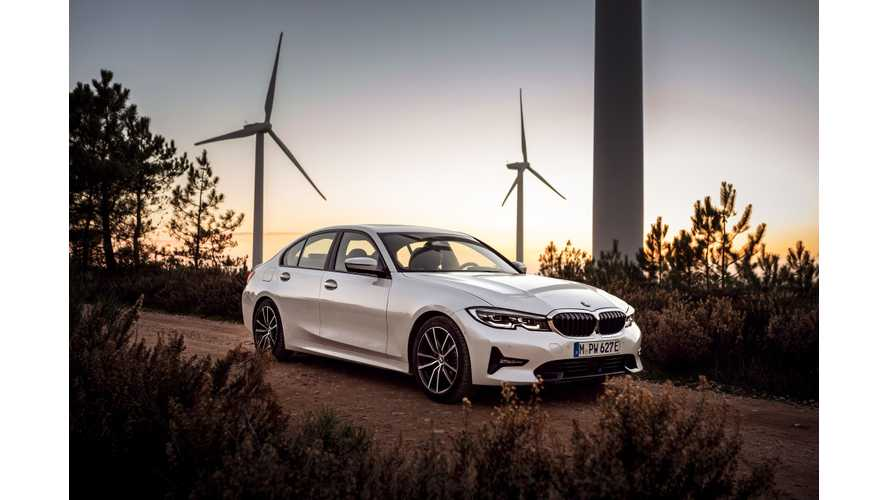BMW Reveals Battery Capacity & Range Details On New 330e PHEV