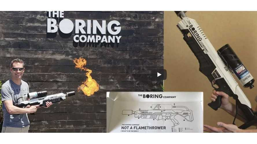 Watch Boring Not-A-Flamethrower Demo and Unboxing