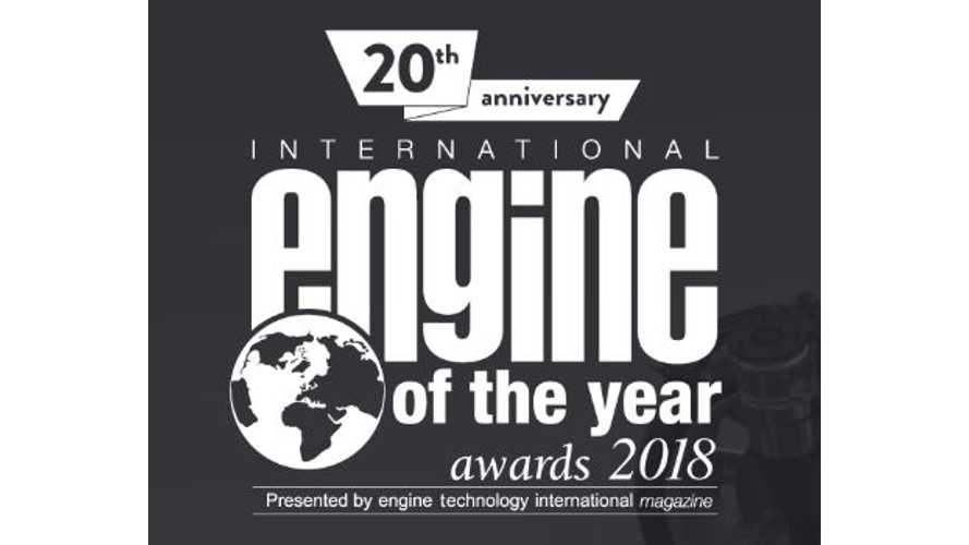 Tesla Tops Electric Category In International Engine Of The Year Awards