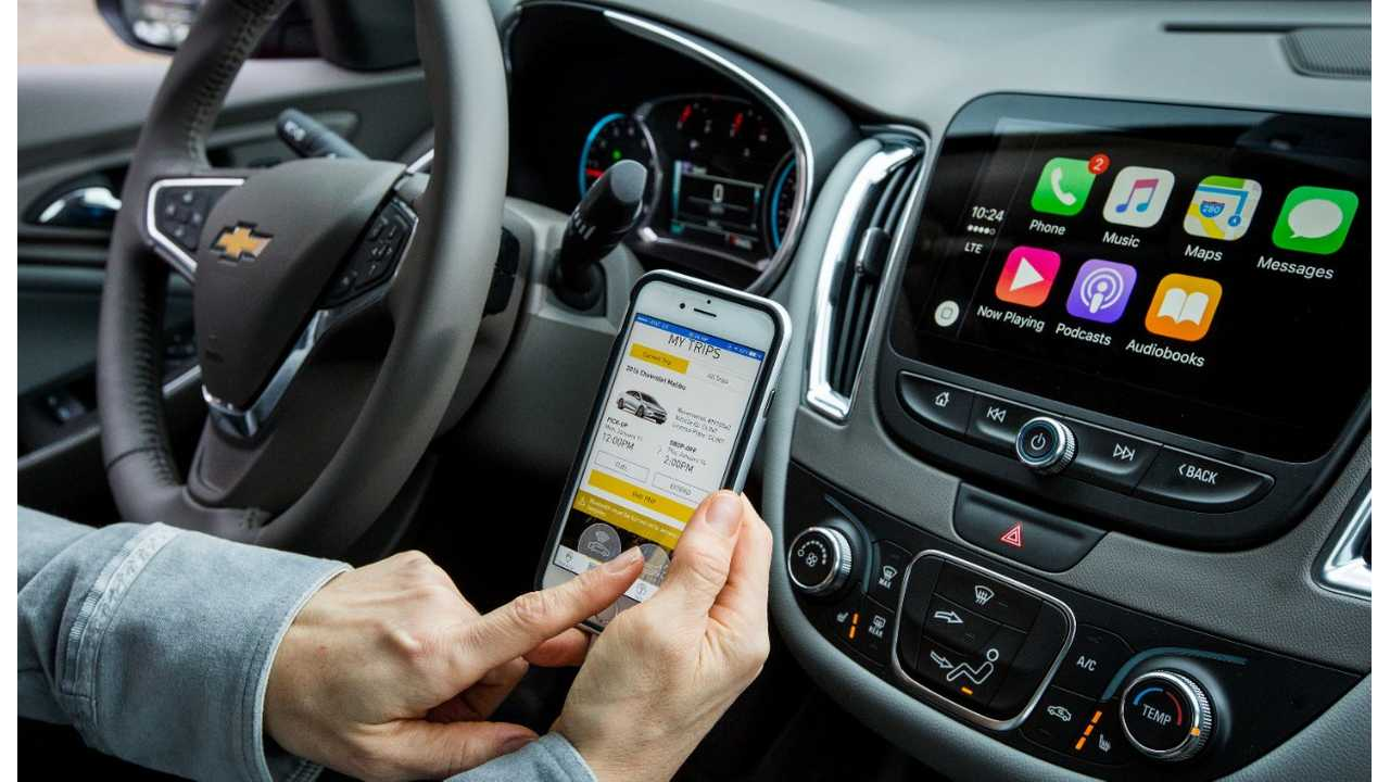 Maven Car-Sharing Service Now Receiving Chevrolet Bolt EVs