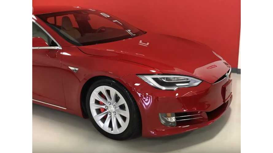 DragTimes Takes Delivery Of Tesla Model S P100DL - Video
