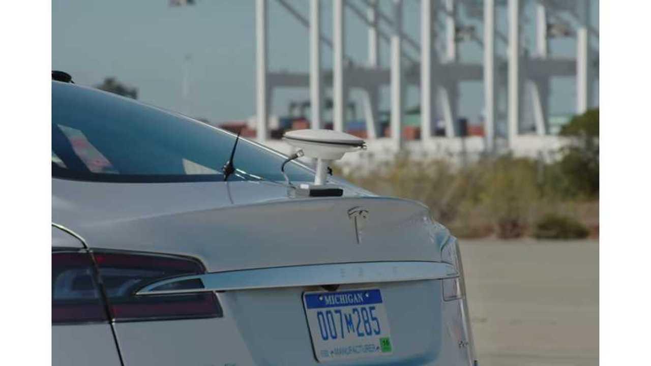 bosch autonomous Tesla Model s
