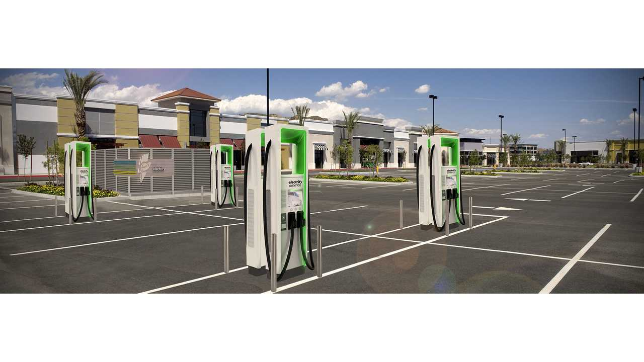 Electrify America DC Fast charging station