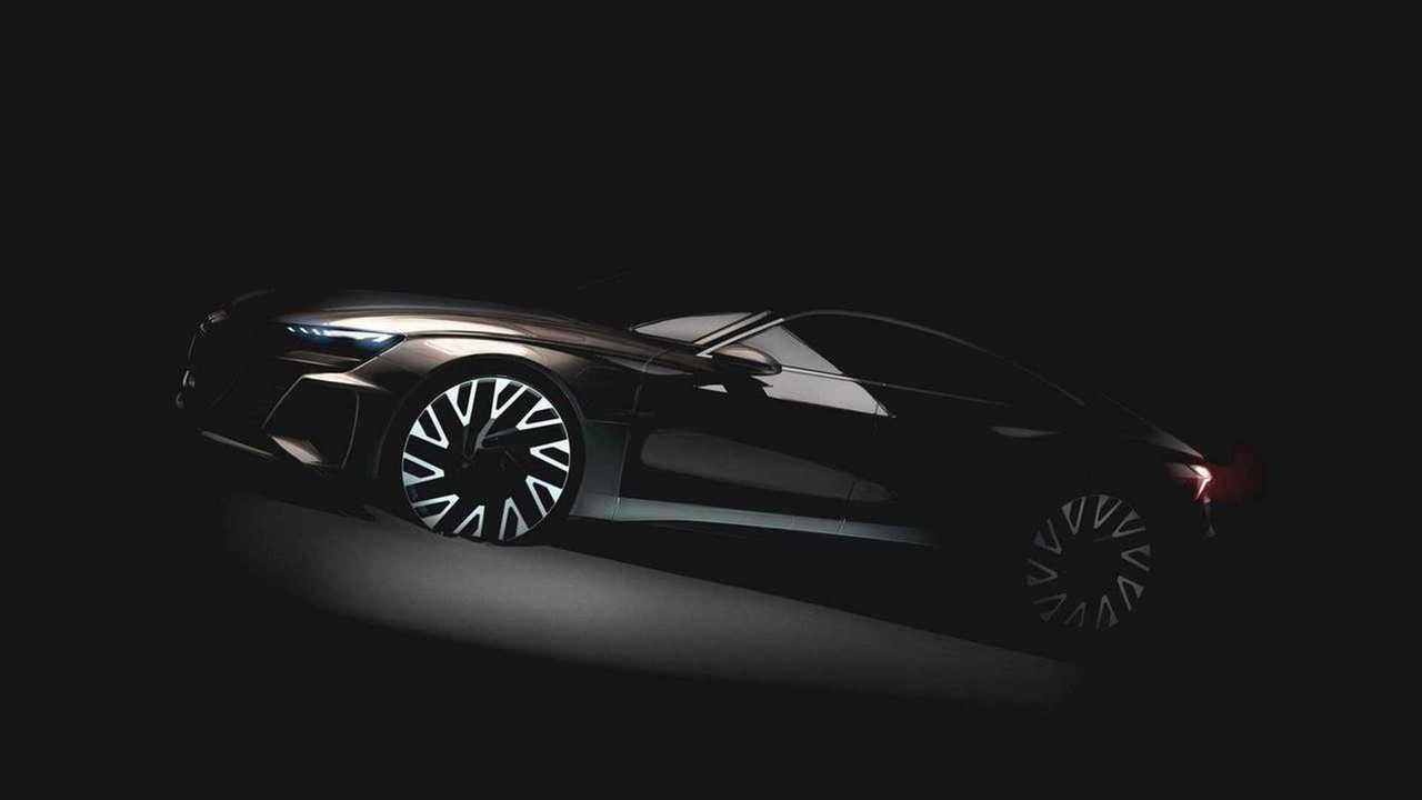 Audi Offers Up Sneak Peek Of e-Tron GT Ahead Of Reveal