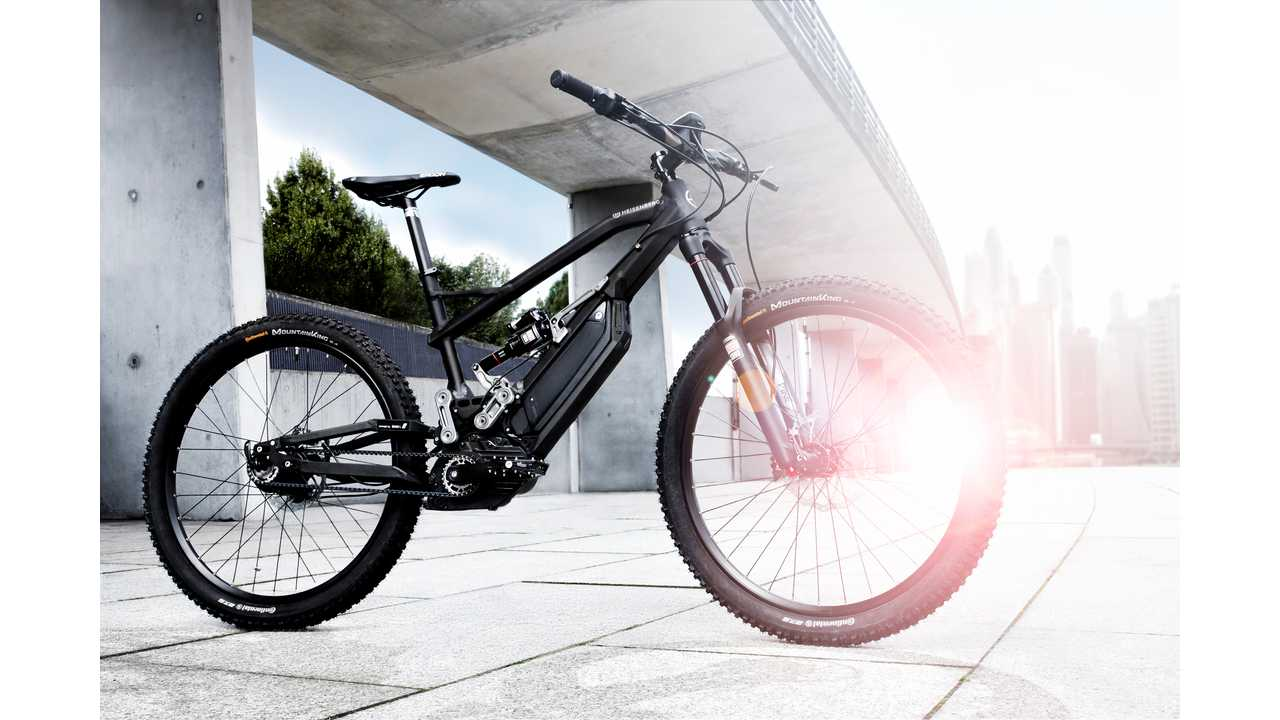 HNF eBike Makes Use Of BMW i Swing Arm