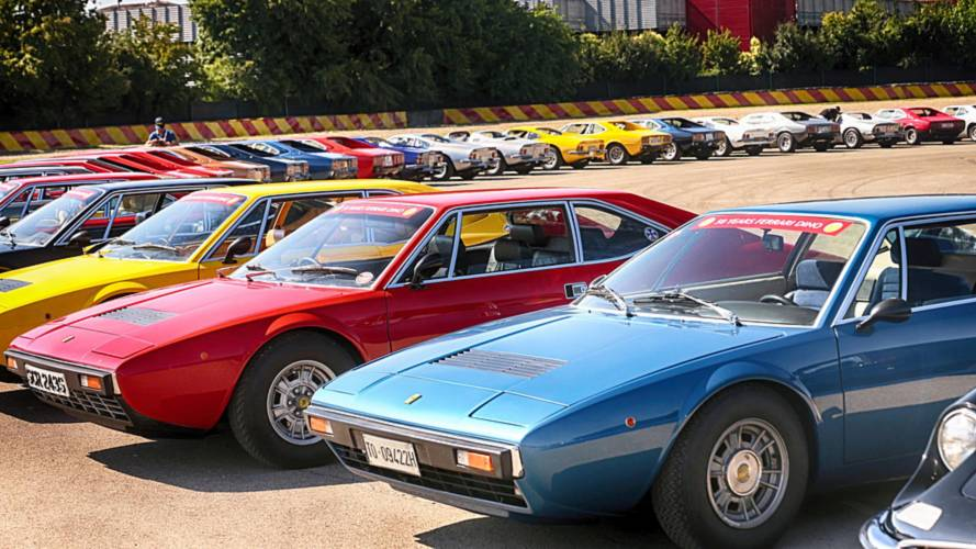 Record number of Dinos celebrate 50 years at Maranello