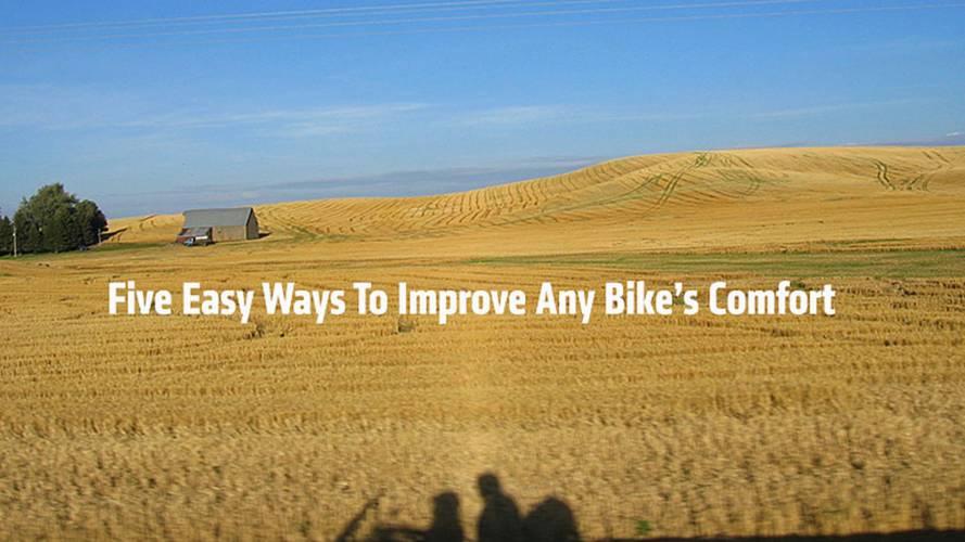 Five Easy Ways To Improve Any Bike's Comfort