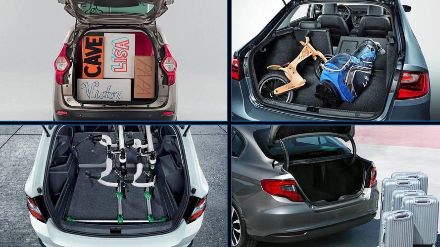 7 coches baratos con un maletero enorme