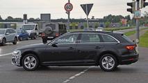 Audi A4 Refresh Spy Photos