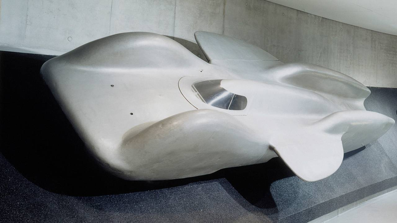 Mercedes-Benz T 80 World Record Project Vehicle