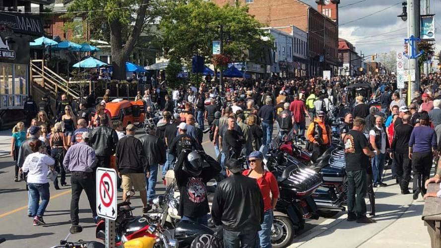 Last Port Dover Bike Pilgrimage of 2018