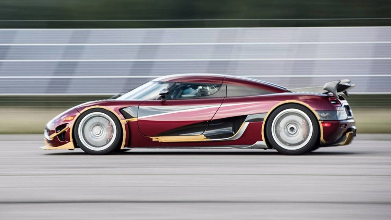 Koenigsegg Agera RS: el coche más veloz