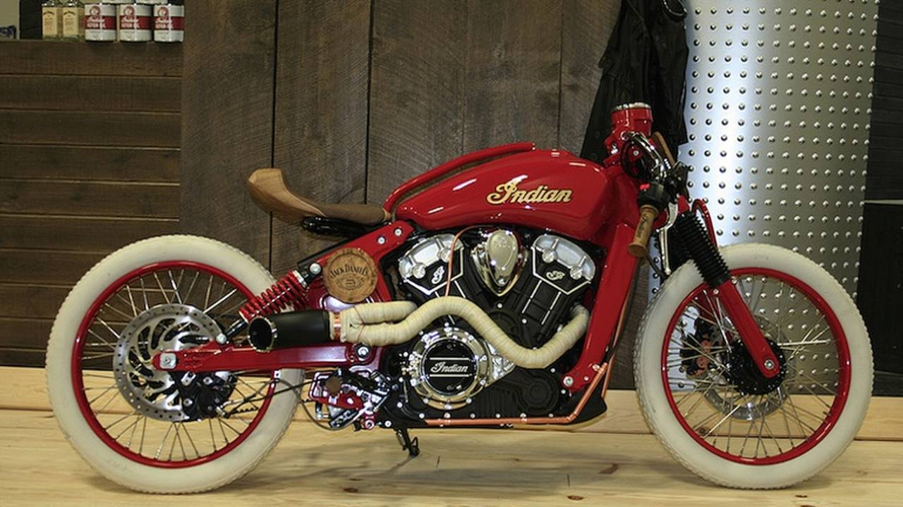 The Winners of Indian's Custom Scout Build-Off