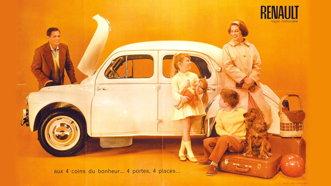 """Renault 4CV: """"Cremeschnittchen"""""""
