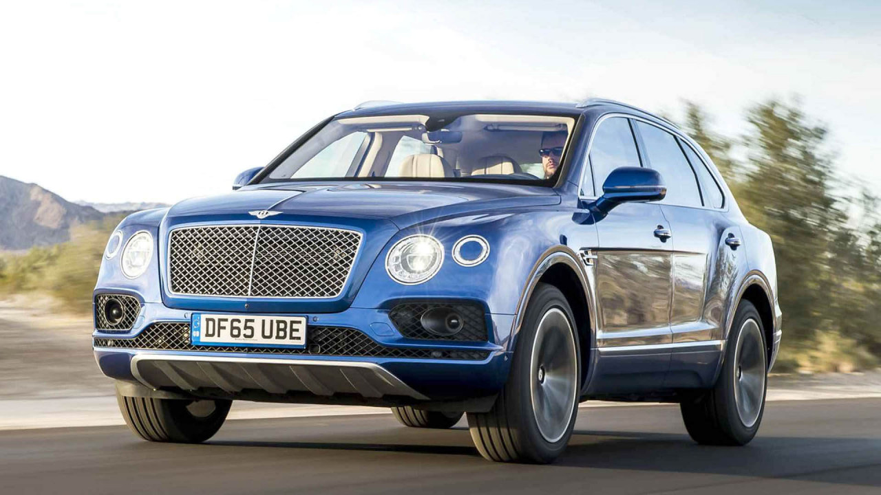 Bentley Bentayga W12 – 208.488 Euro