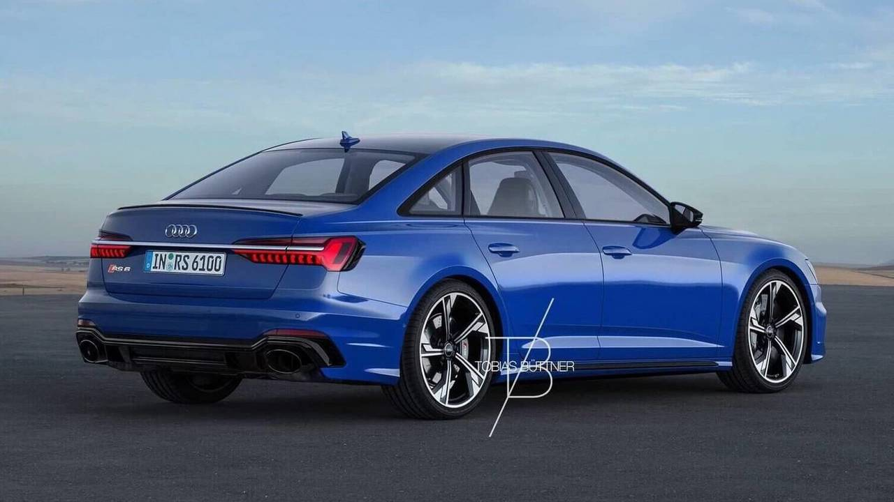 audi rs6 sedan rendered to fuel rumors about the model 39 s. Black Bedroom Furniture Sets. Home Design Ideas