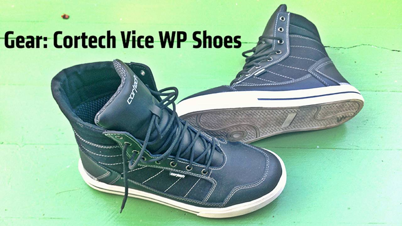Gear: Cortech Vice WP Shoe Review