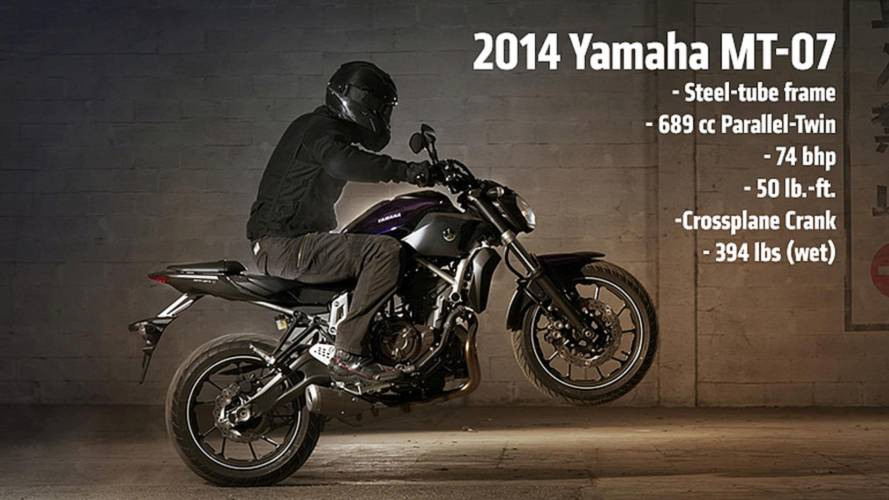 2013 EICMA: 2014 Yamaha MT-07 — First Photos and Specs