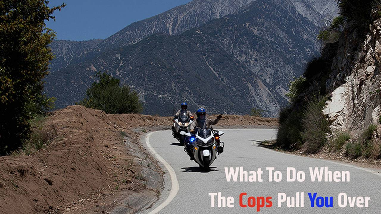 What To Do When The Police Pull You Over