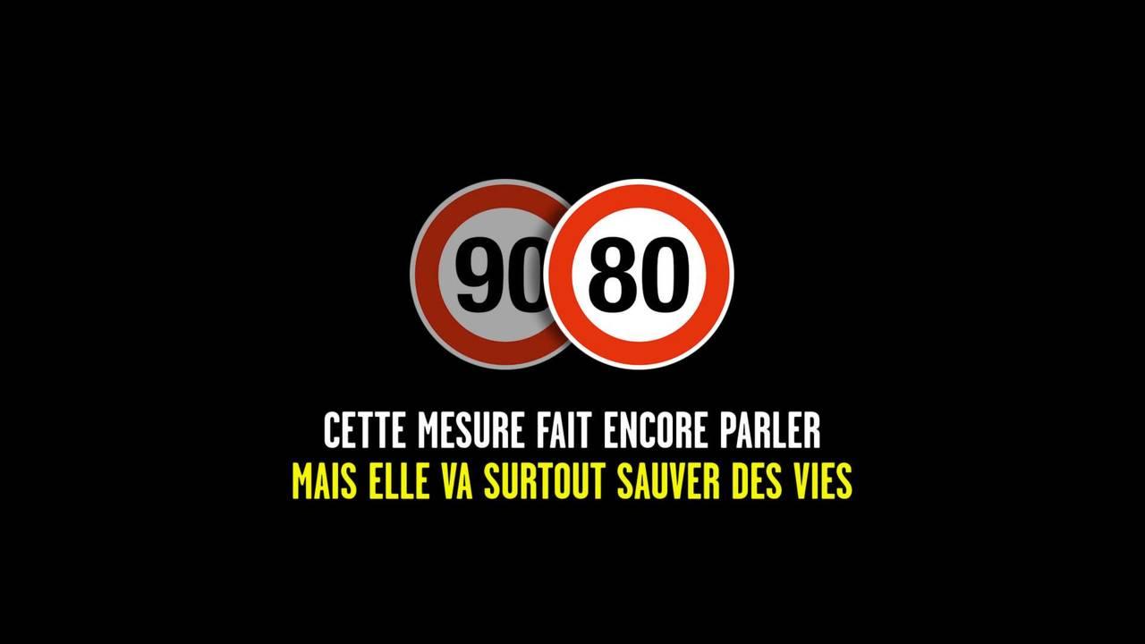 Campagne sécurité routière pour le passage à 80 km/h