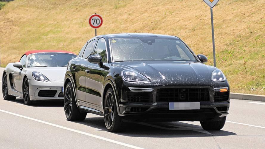 Porsche Cayenne Coupé Erlkönig