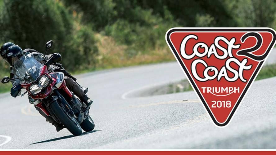 Triumph España presenta su raid 'Coast2Coast'