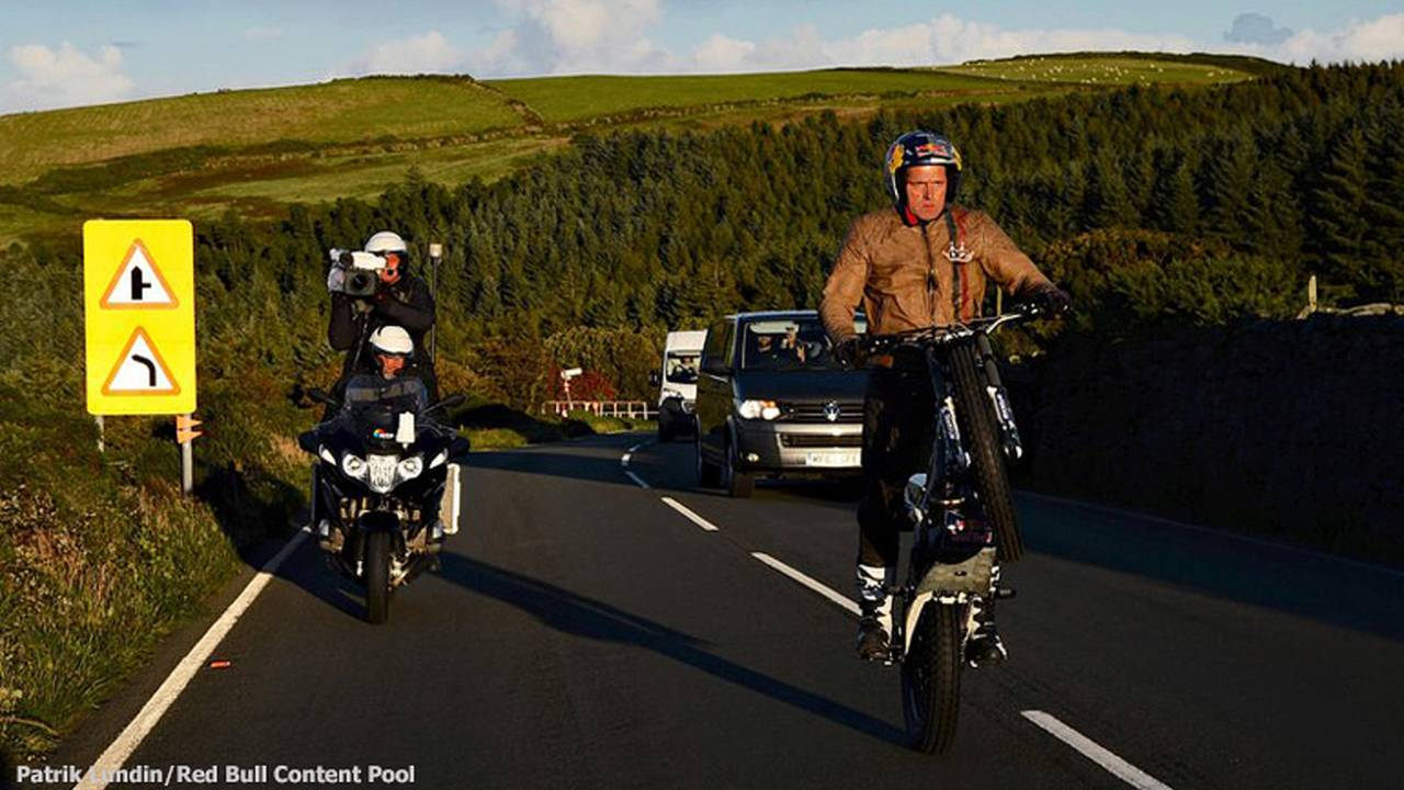Lampkin Wheelies Entire TT Course