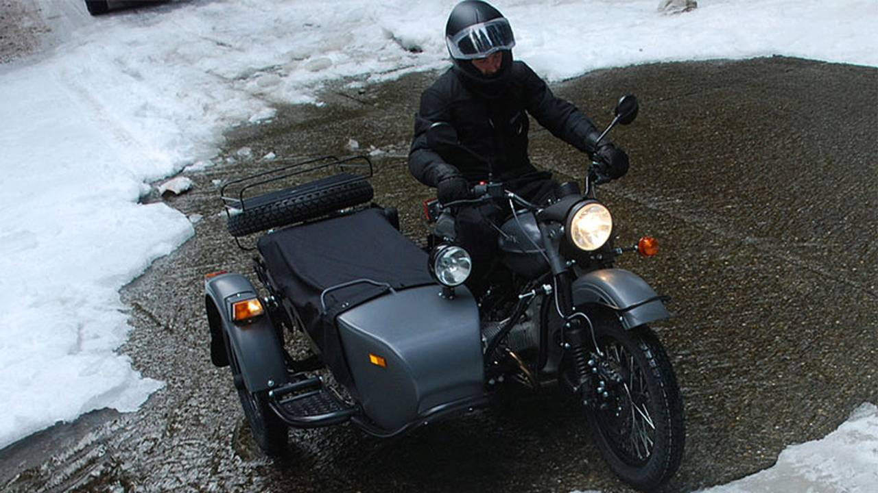 2014 Ural Gear-Up Sidecar (pass through ice)