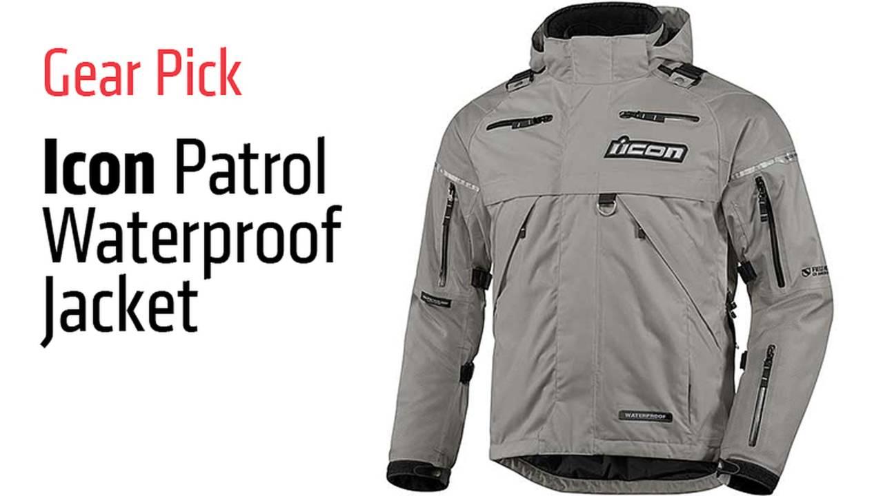 Gear Pick: Icon Patrol Waterproof Jacket