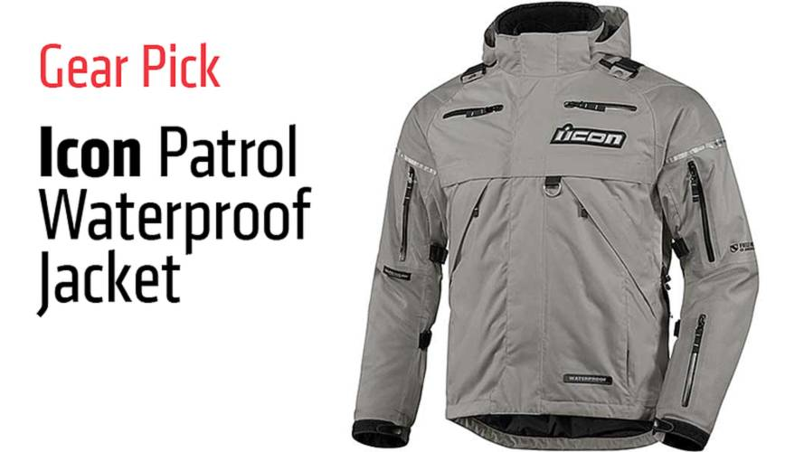 Gear Pick: Icon Patrol Waterproof Jacket