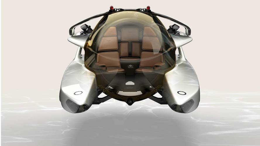 Aston Martin'in su altına girebilecek aracının üretimine başladı