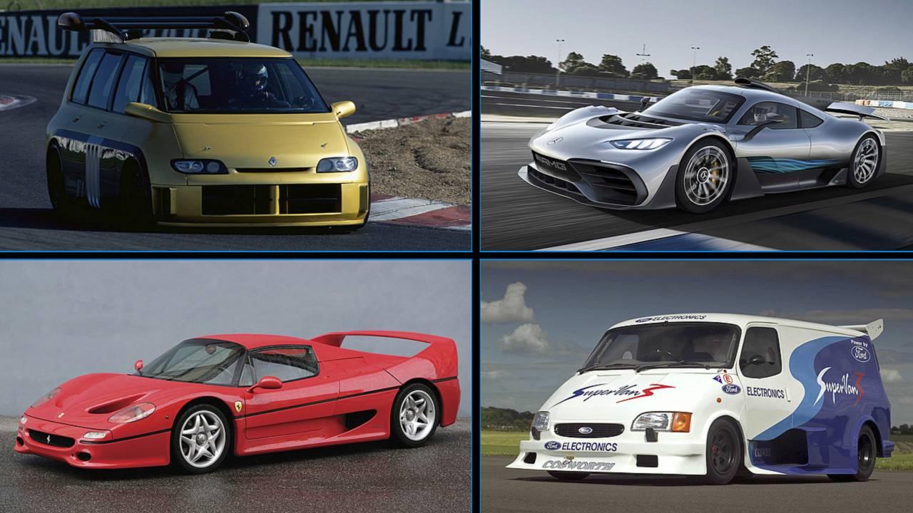 Autos mit Formel-1-Motorentechnik