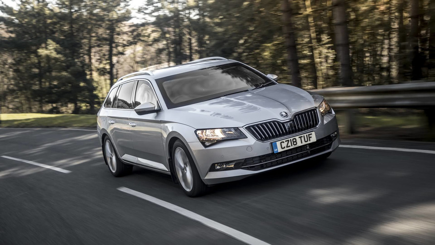 Armoured Skoda Superb estate
