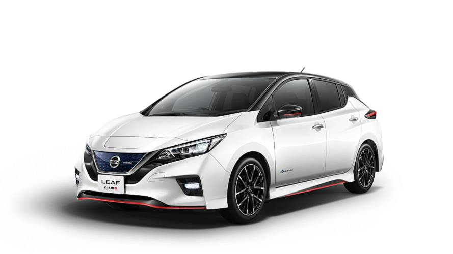 Japan's Nissan Leaf Nismo revealed