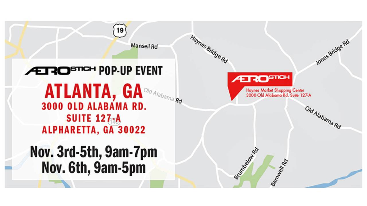 Aerostich Pops Up in Atlanta