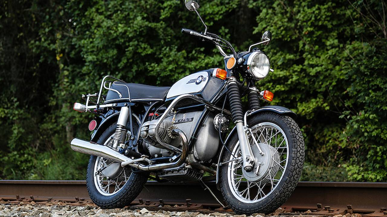 1972 BMW R75/5 - Vintage Review