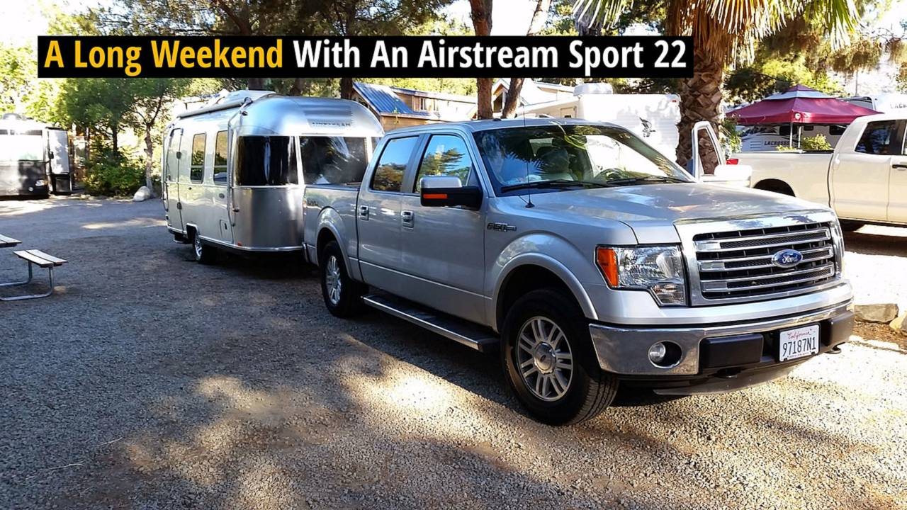 A Long Weekend With An Airstream Sport 22 - Review