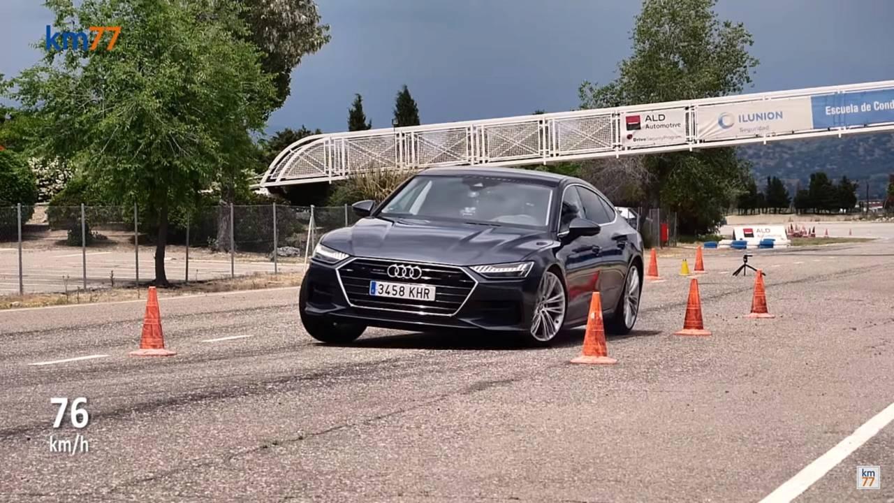 Audi A7 Moose Test
