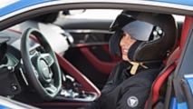 Al Hamad y el Jaguar F-TYPE