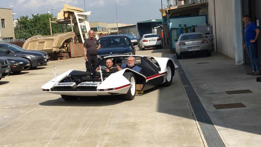 1970 Ferrari 512S Modulo Concept Hits The Road For The First TIme