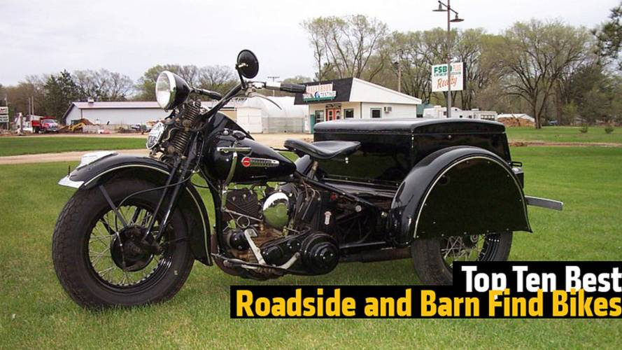 Kickstand: Top Ten Best Roadside and Barn Find Bikes