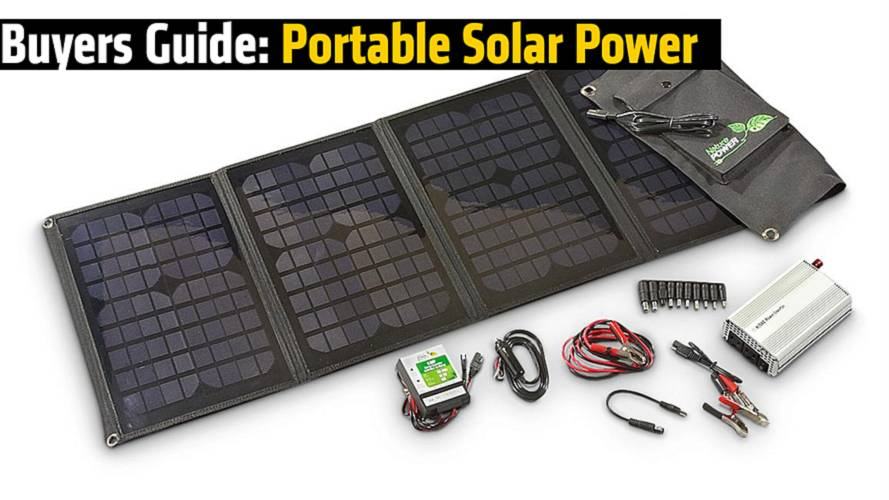 Buyers Guide: Portable Solar Power